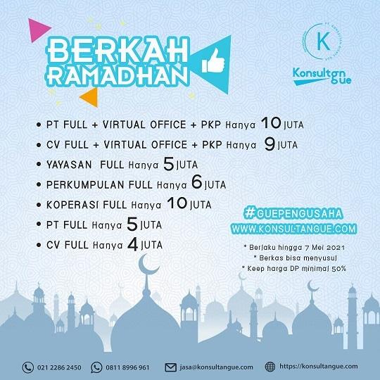 Promo KonsultanGue - Berkah Ramadhan